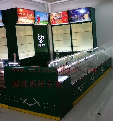 烟酒展柜图片